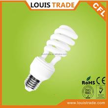 Compact fluorescent lamp e27 energy saving cfl bulb 20w