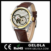 High quality genuine leather brand watches swiss,fashion brand watch china,male watch brand famous