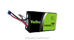 22.2v 6s 20000mAh lipo battery for quadcopter DJI S800/S1000/OnyxStar FOX-C8-HD/Gryphon X8