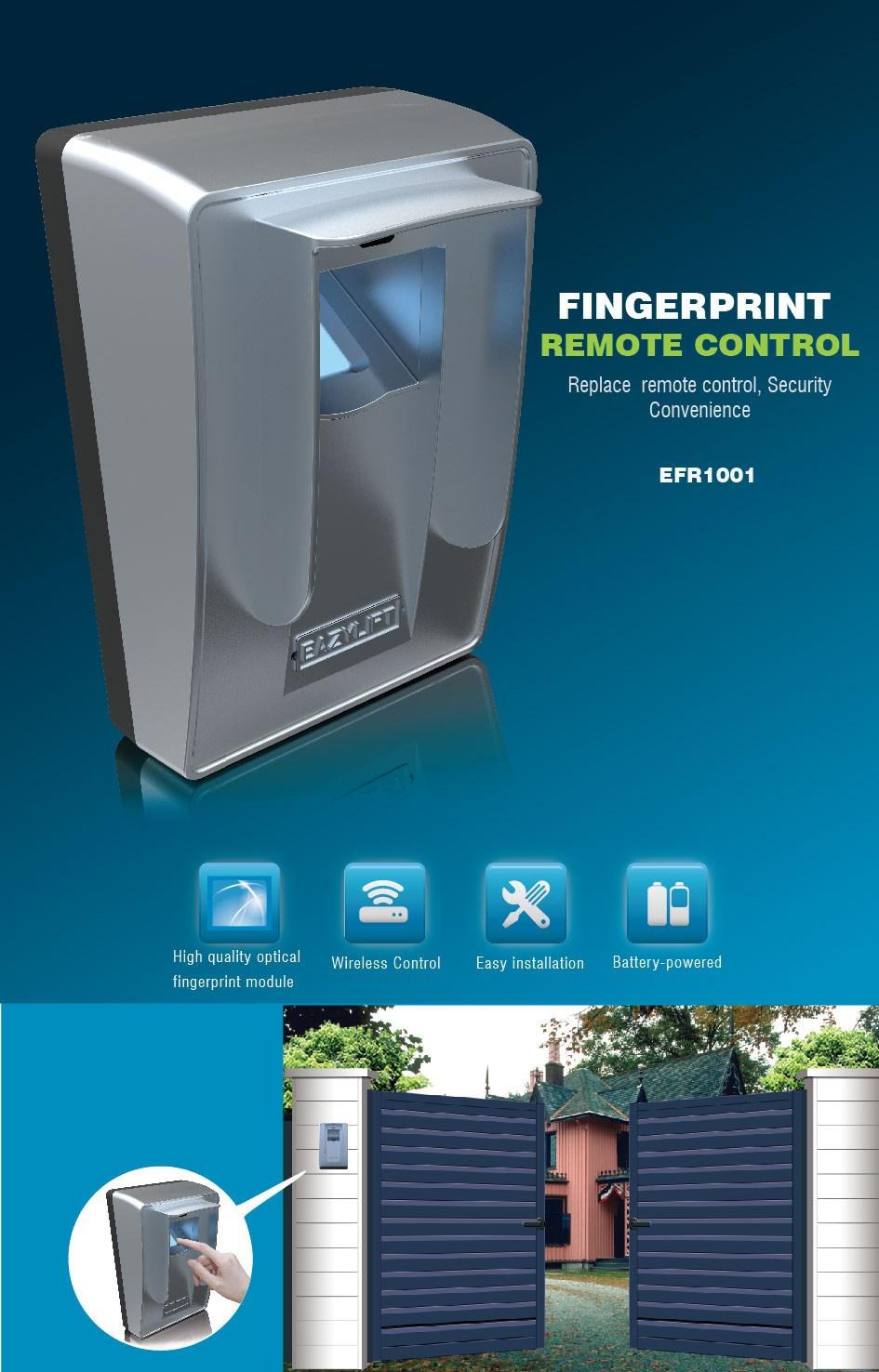 2016 New Garage Door Access Fingerprint Scanner Sensor