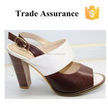 Slip-on Chunky Heel Sandals for Lady/Women Dress Shoes