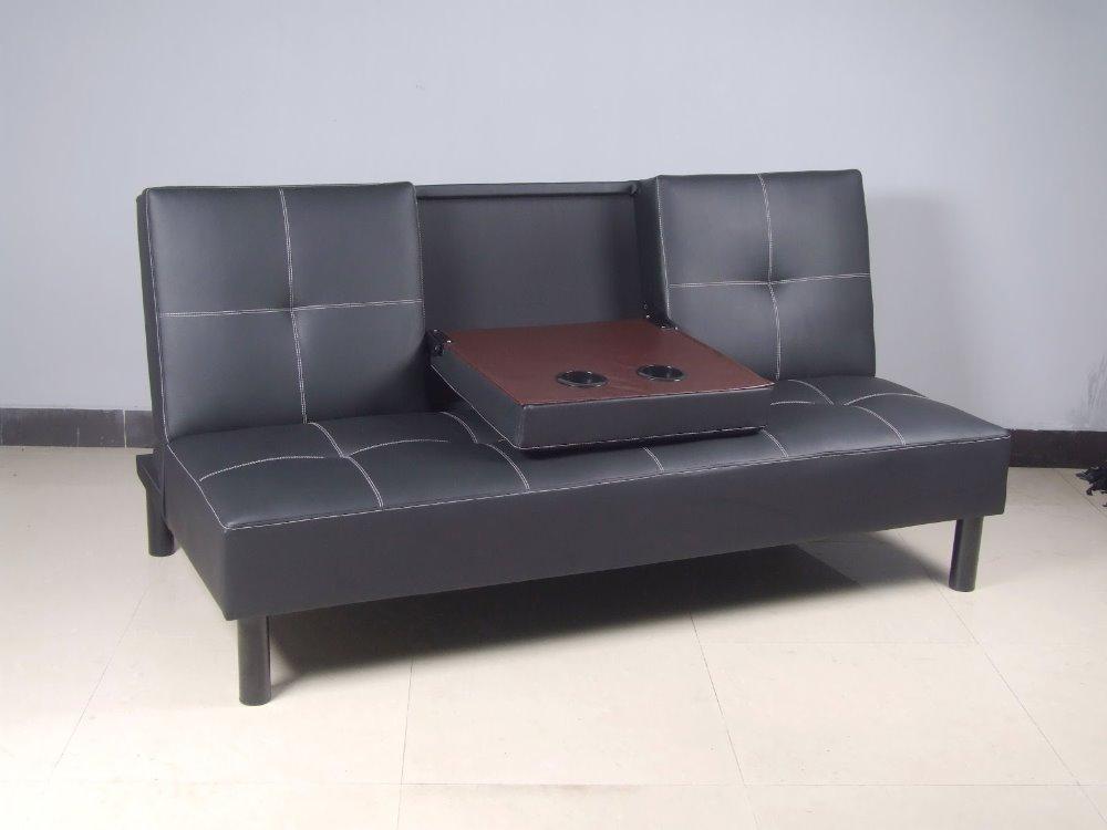 Sb014 ikea black click clack corner leather sofa bed buy click clack leather sofa bed ikea - Leather futon ikea ...