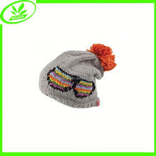 Popular soft knitted cute caps crochet baby hats