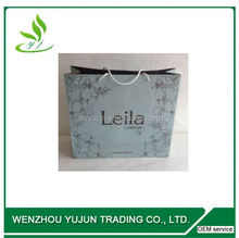 Custom luxury paper bag luxury black stain bag for perfume custom paper gift ag, gift paper bag