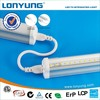 3 year warranty wide voltage 8ft led tube light integrated CRI>80 high bright 100lm/w
