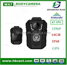 New!New!Hot! factory 3G/4G Wifi IP68 360 degress lens Police Body Camera with 170 angle GPS docking station