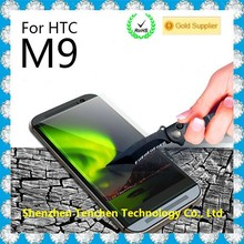 0.33mm 2.5D tempered glass screen protector for HTC M9 mobile screen protector