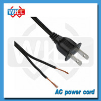 UL CSA certified strip extension US power cord for exhaust fan