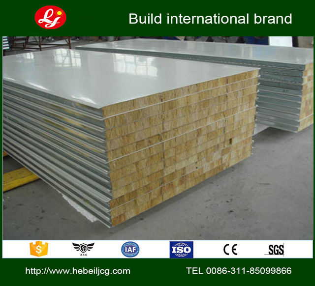 Mineral Wool Sandwich Panel : High quality sandwich panel of eps pu