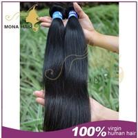100% virgin brazilian hair straight 100 gram full bundle brazilian wave hair
