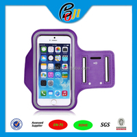 Cool! Workout Phone Armband Gym Running Sport Arm Band Protective Cover Case For iPhone 6 Plus