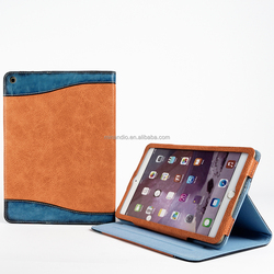 Customized Available side flip leather case for ipad