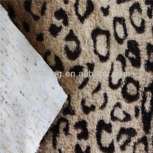 100%polyester printed 15mm long pile fabric for hometextile upholstery