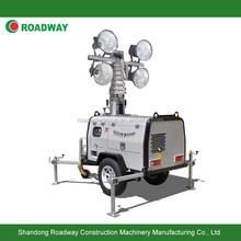 RWZM61C trailer hydraulic mast light tower, LED light tower