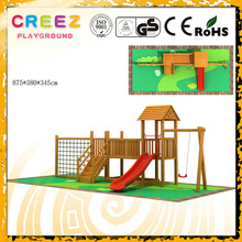 Factory sale Woody climbing and swing playset for children best quality