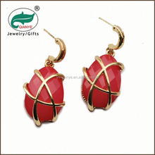 promotional wholesale lastest design gold earring post