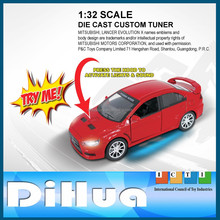 1:32 Scale MITSUBISHI Model Pull Back Diecast Car