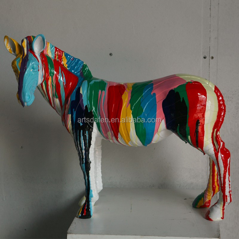 Animal resin sculpture horse crafts for decor buy animal for Where to buy horseshoes for crafts