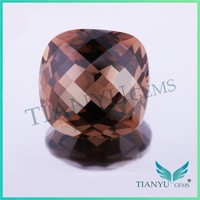 Natural rock crystal quartz checker board shape smoky quartz crystal prices