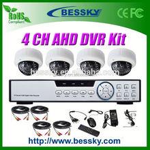 1.0/1.3 Megapixel HD CCTV Camera kit dvr kit 2.8-12mm Manual Zoom Lens