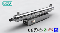 125w uv lamp sterilizer for 12000L/H flow rate with CE