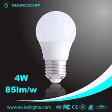 hot sale china manufacturer house e27 4w led bulb lamp