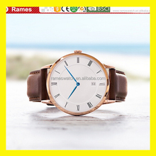 best selling hot chinese products quartz movement stainless steel back watch men leather
