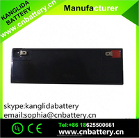 Made in china AGM 6v 12ah rechargeable lead acid battery