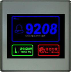 Luxury Hotel Room Control System swipe key card door lock
