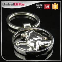 Factory direct sale custom metal auto dealer key chains