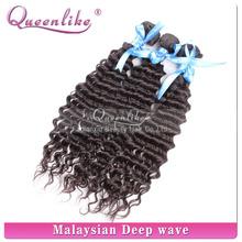closure raw unprocessed virgin Malaysian hair clip in hair extension deep wave