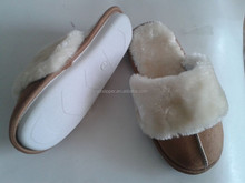 Sheepskin Women Slippers Winter Indoor Outdoor Warm Slippers