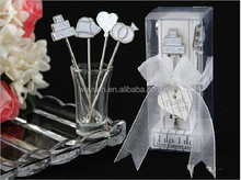 wedding favor gift --I Do, I Do Hors d'oeuvre Pick sstainless steel fruit forks (set of 4 picks) party Gifts