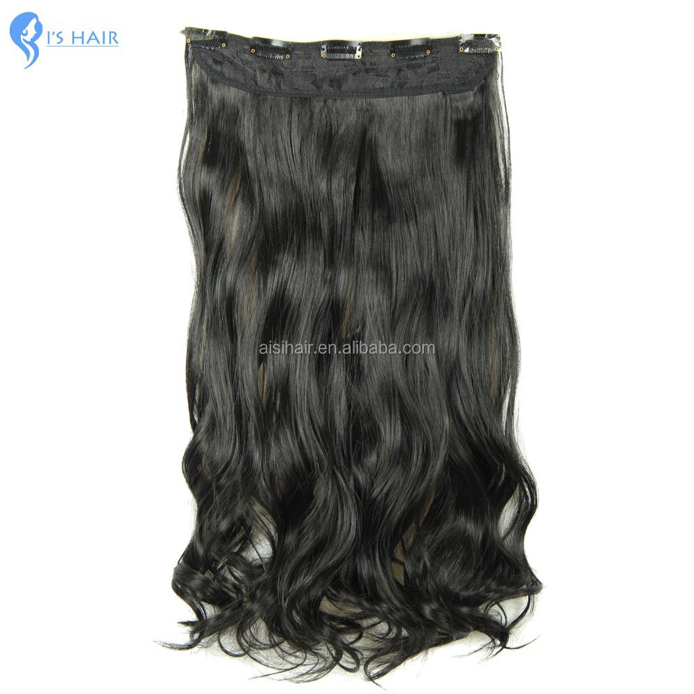 Cheap Long Black Hair Extensions 110