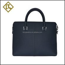 2015 high quality professional custom leather messenger bag men