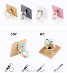Mental Finger Ring Mobile Phone Holder Promotional Products Present For Guests