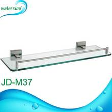 bathroom fitting Grade 304 stainless steel glass shelf support JD-M37