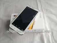 5.7 inch double sim card touch screen N7300 Note 2