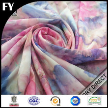 Custom digital printed party dress fabric names in high quality