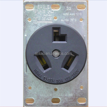 AMERICAN STYLE PERFECT SOCKET, DR30-3S RECEPTACLE, US OUTLETS, 125V-250V