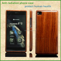 anti-radiation wooden armband sport arm band phone case cover