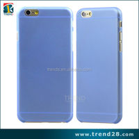 china market of electronic ultra thin 0.3mm matte cell phone plastic hard case for iphone 6