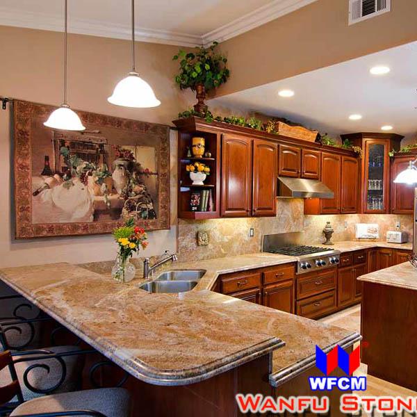 hot d 39 or de cuisine en granit comptoirs comptoirs du bain plateaux de table id du produit. Black Bedroom Furniture Sets. Home Design Ideas