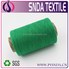 Ne20s Recycled blended cotton yarn for knitting bed sheet