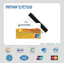2015 Feitian wangu Professional Bank Card with Pantone color