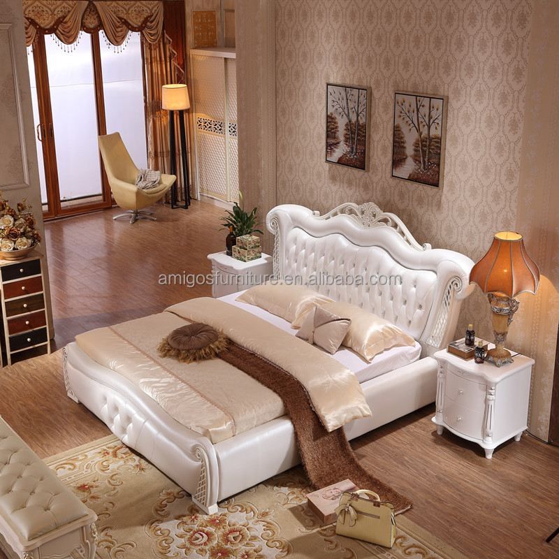 Modern luxury king size space saving bed buy king size - Space saving king size bed ...
