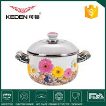 Sale 7.5L Eco-friendly China porcelain enamel cookware sets