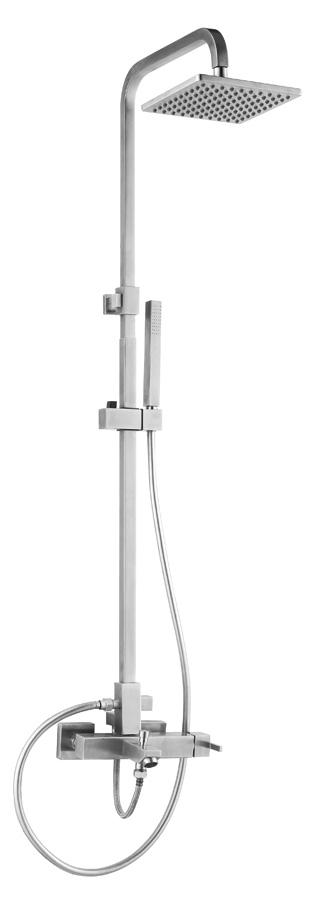 Doble asa mezclador de la ducha del grifo para cuarto de for Grifo mezclador ducha