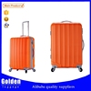 China factory fashion girls abs luggage set beautiful travel pro abs luggage trolley with three sizes 20'' 24'' 28''