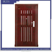 Commercial Cheap Price Safety Exterior Security Steel Door